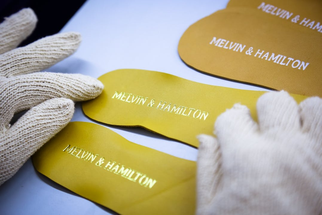 Melvin & Hamilton tailoring and know-how