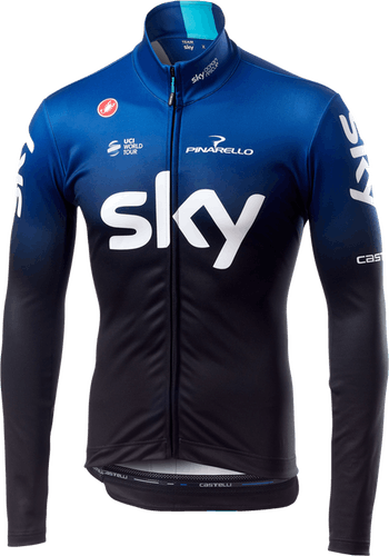 Team Sky 2019 Long Sleeve Thermal - Radtrikot langarm - Herren