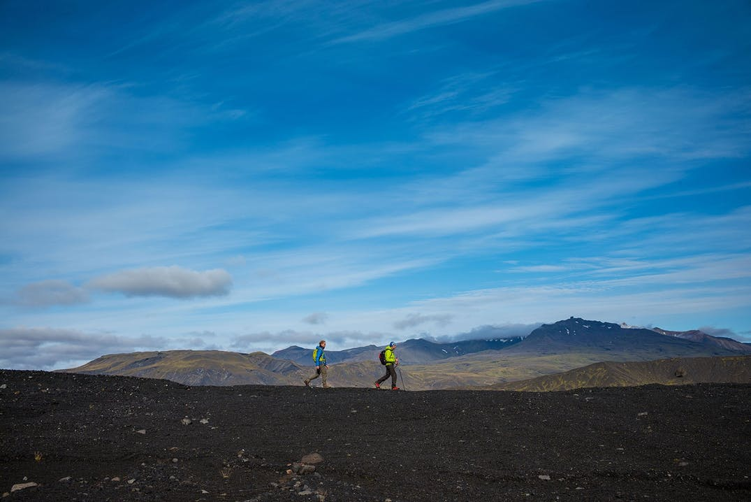 Dmax Iceland camp